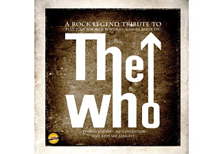 VARIOUS - A Rock Legend Tribute To The Who - (CD)