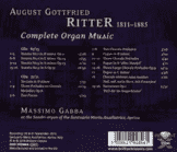 Massimo Gabba - Complete Organ Music [CD] - broschei