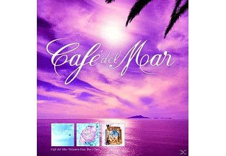 VARIOUS - Cafe Del Mar Vol.1-3 (20th Anniversary Edition) [CD]
