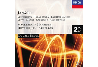 Lpo, Mackerras,Charles/Marriner,Neville/WP/LPO/+ - Sinfonietta/Taras Bulba/+ - (CD)