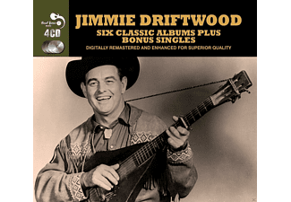 Jimmy Driftwood - 6 Classic Albums Plus - (CD)