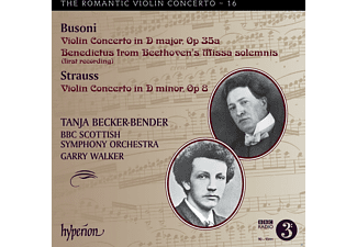 Tanja Becker-Bender;Bbc Scottish Symphony Orchestra - Das Romantische Violinkonzert Vol.16 [CD]