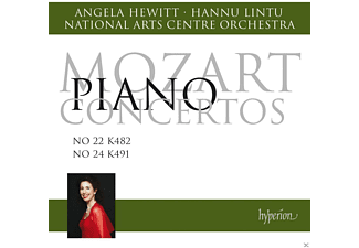 Angela Hewitt;National Arts Centre Orchestra - Klavierkonzerte 22 & 24 - (CD)