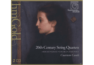 Cuarteto Casals - 20th-Century String Quartets - (CD)