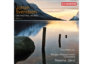 Neeme Jarvi, Bergen Philharmonic Orchestra - Orchestral Works Vol. 2 - (CD)