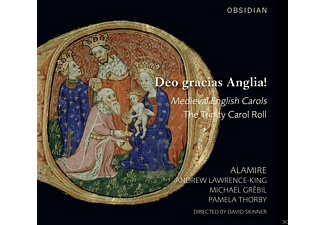 Alamire, Andrew Lawrence-King, Michael Grebil, Pamela Thorby - Deo gracias Anglia! - Medieval English Carols - (CD)