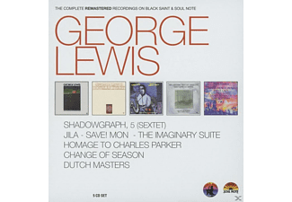 George Lewis & Various - The Complete Remastered Recdordings On Black Saint & Soul Note - (CD)