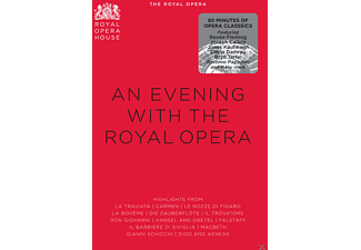 Renée Fleming, Joseph Calleja, Jonas Kaufmann, Diana Damrau, Bryn Terfel, Orchestra Of The Royal Opera House - An Evening With The Royal Opera - (DVD)