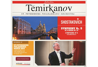 Yuri Temirkanov, St. Petersburg Philarmonic Orchestra - Symphony No. 5 In D Minor Op. 47 - (CD)