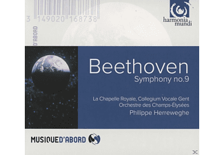 Collegium Vocale Gent, Orchestre Des Champs-elysees, La Chapelle Royale - Symphony No. 9 - (CD)