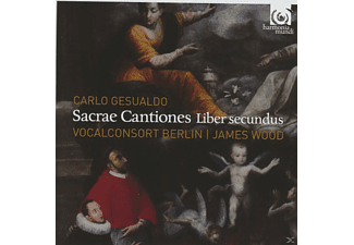 James Wood, Vocalconsort Berlin - Sacrae Cantiones Liber Secundus - (CD)