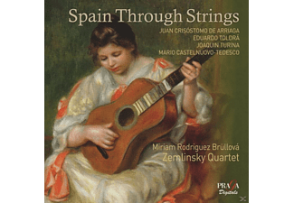 Zemlinsky Quartet, Miriam Rodriguez Bruellova - Spain Through Strings - (SACD Hybrid)