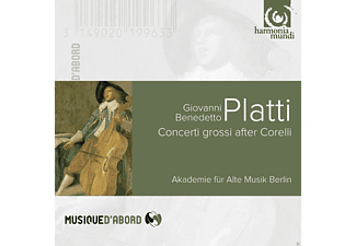 Akademie Für Alte Musik Berlin - Concerti Grossi After Corelli [CD]