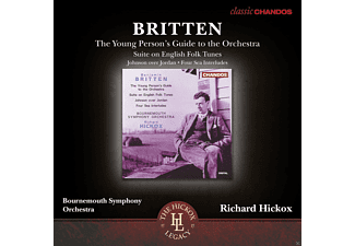 Bournemouth Symphony Orchestra - The Young Person's Guide to the Orchestra Suite On English Folk Tunes - (CD)