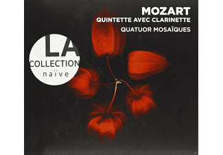 Quat Mosaiques, Meyer Wolfgang, Cohen Patrick - La Collection Naive - Quintette Avec Clarinette - (CD)