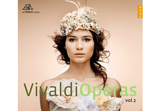 Philippe Jaroussky, Srine Piau, Jean-christopher Spinosi - Vivaldi Operas Vol.2 - (CD)