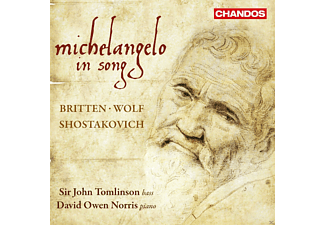 John Tomlinson, David Owen Norris - Michealangelo in song - (CD)