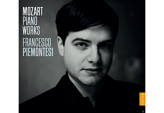 Francesco Piemontesi - Mozart Piano Works - (CD)