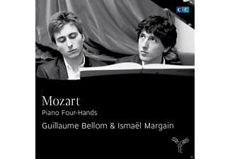 Ismael Margain, Guillaume Bellom - Piano Four-Hands - (CD)
