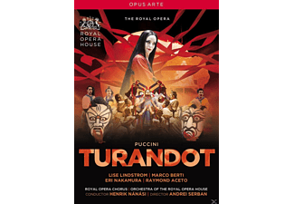 Lise Lindstrom, Marco Berti, Eri Nakamura, Raymond Aceto, Dionysios Sourbis, David Butt Philip, Doug Jones, Orchestra Of The Royal Opera House - Turandot - (DVD)
