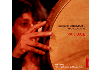 Michele Claude, Ensemble Aromates - Partage (CD+DVD) - (CD + DVD Video)