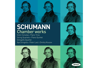 Peter Laul, Ilya Gringolts, Dmitry Kouzov, Gringolts Quartet - Chamber Works - (CD)