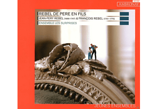 Ensemble Les Surprises - Rebel De Pere En Fils - (CD)