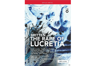 Sarah Connolly, Christopher Maltman, John Mark Ainsley, English National Opera Orchestra, Catherine Wyn-rogers - Britten: The Rape Of Lucretia - (DVD)
