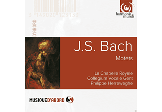La Chapelle Royale, Collegium Vocale Gent - J. S. Bach - Motets - (CD)
