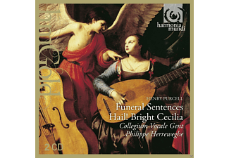 Collegium Vocale Gent - Funeral Sentences - Hail! Bright Cecilia - (CD)