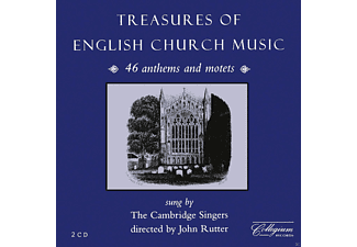 The Cambridge Singers - Treasures Of English Church Music - (CD)