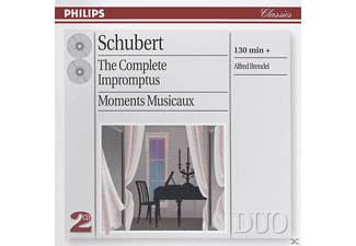 Alfred Brendel, Franz Schubert - The Complete Impromptus - Moments Musicaux - (CD)