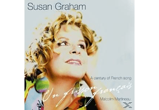 Susan Graham, Graham, Susan & Martineau, Malcolm - Un Frisson Francais-A Century Of French Song - (CD)