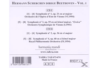 Hermann Scherchen - Die Symphonien Vol.1: Nrn.1-4 [CD]
