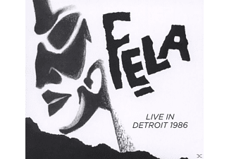 Fela Kuti - Fela Kuti Live In Detroit 1986 - (5 Zoll Single CD (2-Track))