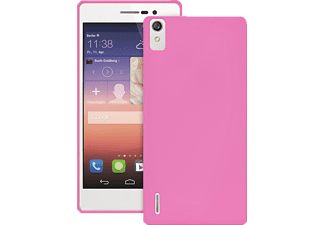 PU-111037 Back Case Ultra Slim 0.3 Backcover Huawei Ascend P7 Polycarbonat Pink