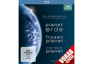 Planet Erde / Frozen Planet / Unser Blauer Planet [Blu-ray]