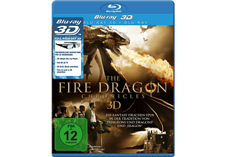 The Fire Dragon Chronicles 3D - (3D Blu-ray)