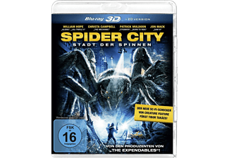 Spider City 3D [3D Blu-ray]