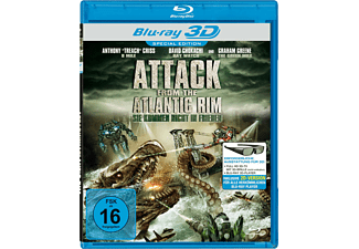 Attack from the Atlantic Rim - Sie kommen nicht in Frieden - (3D Blu-ray)