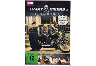 HAIRY BIKERS USA (BBC) - (DVD)
