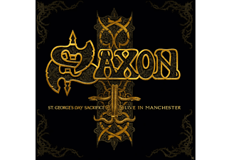 Saxon - St.George's Day-Live In Manchester - (CD)