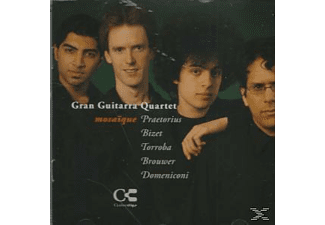 VARIOUS, Gran Guitarra Quartet - Gran Guitarra Quartet Mosaique - (CD)