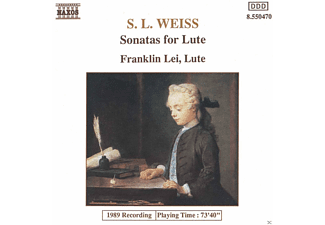 Franklin Lei - Sonatas For Lute - (CD)