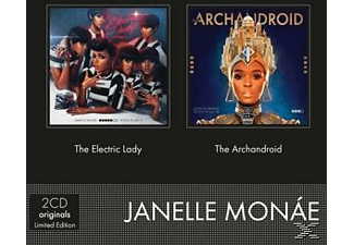 Janelle Monae - Electric Lday, The/Archandroid, The - (CD)