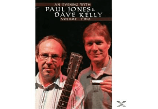 Dave Kelly - An Evening With Paul Jones & Dave Kelly, Vol. 2 - (DVD)