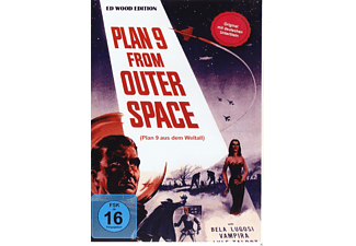 Ed Wood - Plan 9 From Outer Space - (DVD)