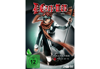 D.Gray-Man - Vol. 4 - (DVD)
