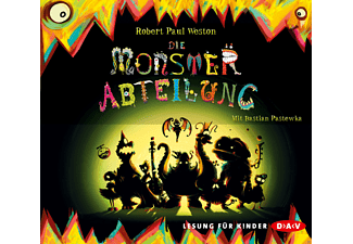 Robert Paul Weston - Die Monsterabteilung - (CD)