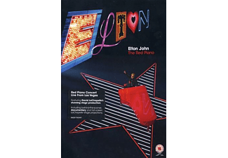Elton John - The Red Piano (Standard Amaray) - (DVD)
